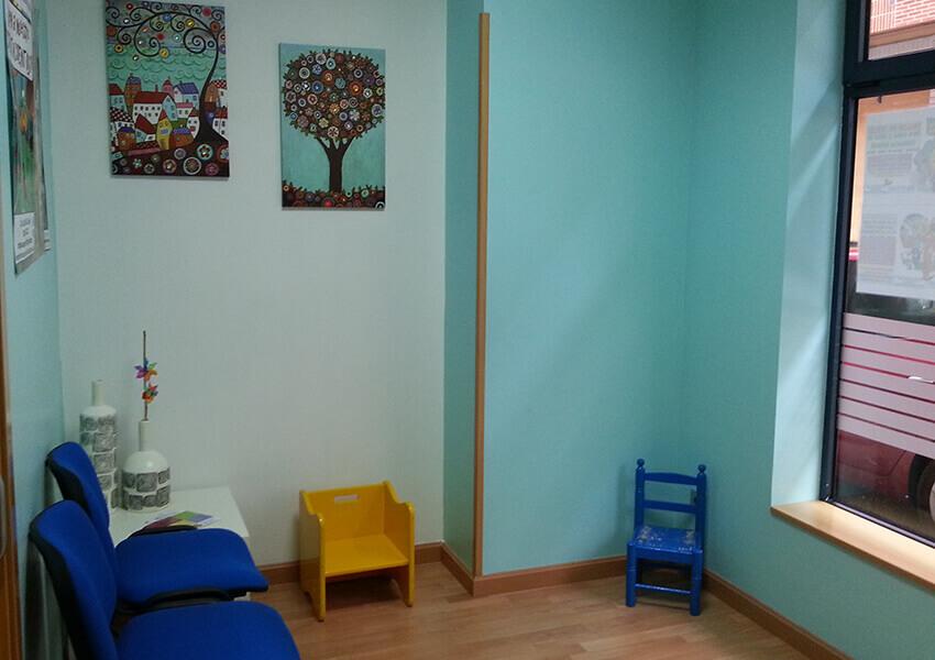 Integra Psicomotricidad: sala de espera